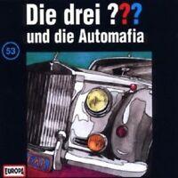 """DIE DREI ??? """"UND DIE AUTOMAFIA (FOLGE 53)"""" CD HÖRBUCH NEUWARE"""