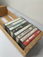 8 Cassettes Grateful Dead,David Bowie,Sting,Monkees,Police,James Taylor+ Holder