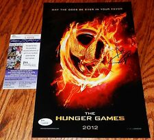 Josh Hutcherson Signed 8x12 Hunger Games Glossy Photo JSA COA Autograph Poster