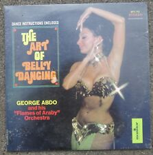 GEORGE ABDO - THE ART OF BELLY DANCING Sealed LP w/ Instruction Booklet 1973