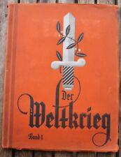 780 KOSMOS Zigaretten Bilder Album DER WELTKRIEG 1914-18 Militär trading cards