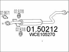 SILENCIEUX INTERMéDIAIRE POUR MG MG ZS 120,ROVER 45 3/5 PORTES 1.8