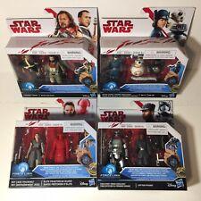 Lot of 4 Force Link Star Wars Disney Sealed Packs c/w Finn & Captain Phasma