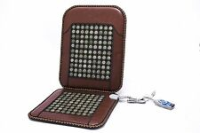 Infrared Heat Therapy Healing Natural Jade Chair Mat / Pad JadeSeatBack