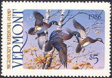 VT1 1986  Vermont  State Duck Stamp