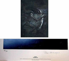 Dark Horse Comics John Bolton Aliens Signed and Numbered Lithograph from 1991