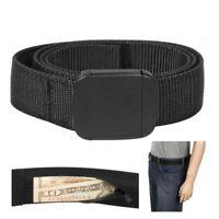 "Travelon Security Friendly Money Belt Black XL 42""-44"" Travel Secure Wallet Id"