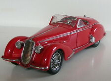 New ListingFranklin Mint 1937 Alfa Romeo 2900B Red Limited Edition Boxes, Paperwork