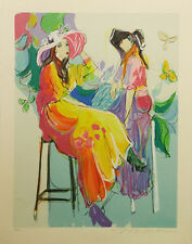 """ISAAC MAIMON """"LES COQUETTES II"""" 1994 