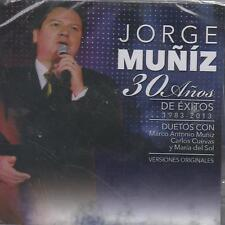 CD/DVD - Jorge Muniz NEW 30 Anos De Exitos 1983-2013 FAST SHIPPING !