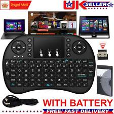 2.4G Mini Wireless Keyboard Fly Air Mouse Touch pad For Smart TV Box Netbook PC