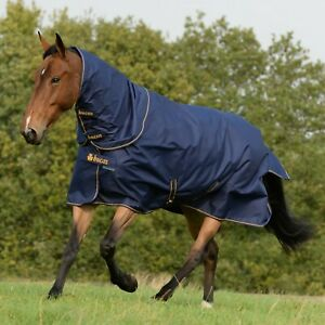 BNWT Bucas Irish Turnout Extra Turnout Rug ,300g Fill,Waterproof/ Breathable