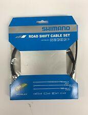 Shimano Optislick R8000,R9000 Road Bike Shift Cable +Housing Set Black Y60198010