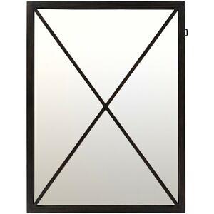 Franklin Wall Mirror by Surya, Black - FRA001-3040