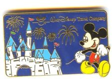 DLR Walt Disney Travel Company 2003 Pin Mickey & Sleeping Beauty's Castle Pin!