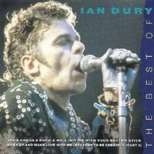 Ian Dury Best Of CD NEW SEALED 1996 Sex & Drugs & Rock & Roll/What A Waste+