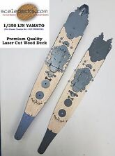 1/350 Battleship Yamato Tinted DUAL-DECK for Tamiya by Scaledecks.com