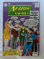 Action Comics #261 Superman Supergirl 1st & Origin Streaky 1st X-Kryptonite
