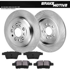 Centric Front Rear Brake Disc Rotors /& Metallic Pads Fits Ford Freestyle