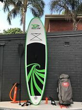 Super Strong Double Layer Inflatable SUP Paddle board 10' with Paddle and Pump