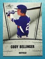 "CODY BELLINGER 2017 ""1ST EVER PRINTED"" LEAF SILVER EDITION ROOKIE CARD! DODGERS"