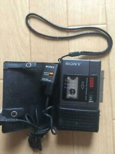 Sony Microcassette Tape recorder voice operated recording Junk