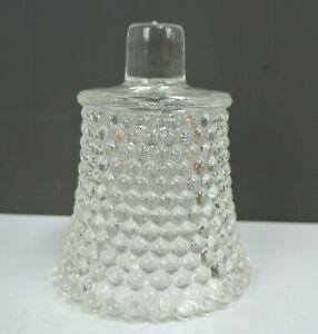 Vintage Clear Glass,Hobnail,Votive Candle Holder, Vintage Piece
