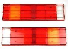 MERCEDES SPRINTER & VOLKSWAGEN LT - PAIR LIGHT LAMP LENS SET - 4 SCREW TYPE