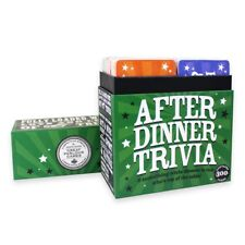 After Dinner Trivia Quiz Cards Game Family Travel Games