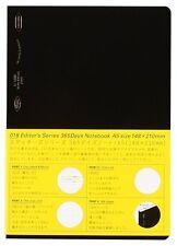 """Nitoms STALOGY 365 Days Notebook A5 (148 x 210 mm / 5.8 x 8.26"""")"""