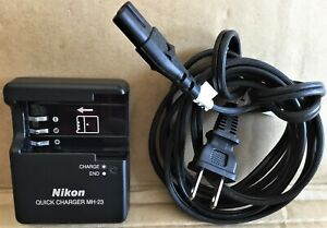 Nikon Quick Charger MH-23 Digital Camera/Camcorder Charger for EN-EL9 EN-EL9A