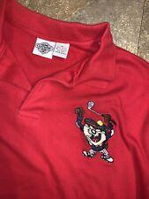 Vintage ACME Clothing Co. Tazmanian Devil Polo Shirt Men's Golf Taz Looney Tunes
