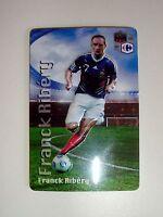 Magnet avec Relief Franck Ribery équipe de France de Football