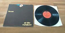 Focus At The Rainbow UK/USA LP Foldout Sleeve A1 B1 Polydor Classic Prog Rock