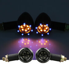 2X LED Turn Signals Front Light For Kawasaki Vulcan S 1700 1600 1500 2000 900