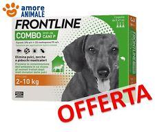 Frontline Combo Cane 3 pipette per cani da 2-10 kg - Antiparassitario  OFFERTA