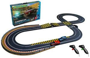 Scalextric American Police Chase - AMC VS Dodge 1:32 Slot Car Race Set C1405T