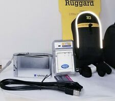 Sony Cyber-shot DSC-T5 Digital Camera RUGGARD BUNDLE - Silver 5.1MP