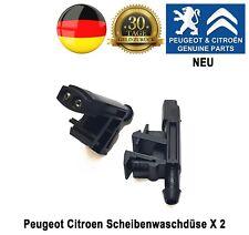 Peugeot Partner 406 605 spritzdüse waschdüse scheibenwaschdüse 6438A0 Neuf X2