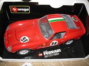1:18 Bburago FERRARI 250 GTO Burago