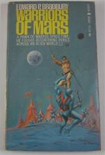 WARRIORS OF MARS EDWARD P BRADBURY MICHAEL MOORCOCK LANCER BOOKS 1966 1ST ED PB