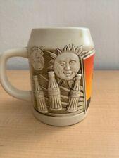Vintage 1995 Always Sunny Coca-Cola Sun/Moon Ceramic Mug/Stein