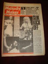 MELODY MAKER 1976 APR 24 TAMMY WYNETTE DOLLY PARTON BUFFY SAINTE MARY STONES