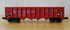 N scale open hopper Burlington NIB AHM Minitrains 4369