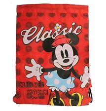Disney Minnie Mouse (DESDE 1928) Bolsa de deporte con cordón Ajuste (CON