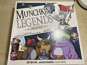 Munchkin Legends: Deluxe Edition, Legends Expansion 2 & 3, Puppies, Valentine's