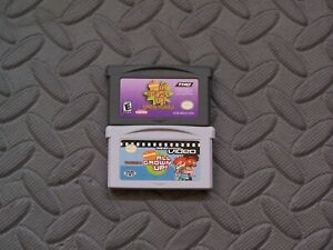 Lot Nintendo Game Boy Advance GBA Games All Grown Up! Express Yourself + Video