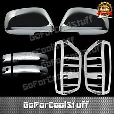 05-15 For Nissan Frontier 2Drs+Mirror+Tailight Chrome Abs Covers