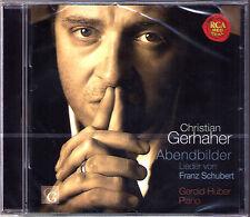 Christian GERHAHER: SCHUBERT Abendbilder Winterabend Alinde Im Abendrot CD HUBER