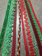 Ribbon Value Pack 10pc set:  Scrapbooking, card making, Valentines Crafts